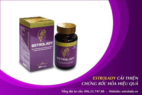 estrolady cải thiện chứng bốc hỏa hiệu quả