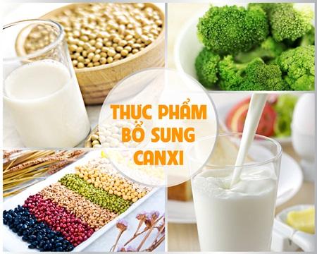 Bổ sung thực phẩm giàu canxi giúp xương chắc khỏe hơn