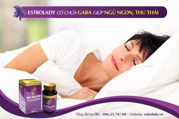 estrolady có chứa thành phần giúp cho bạn ngủ ngon thư giãn