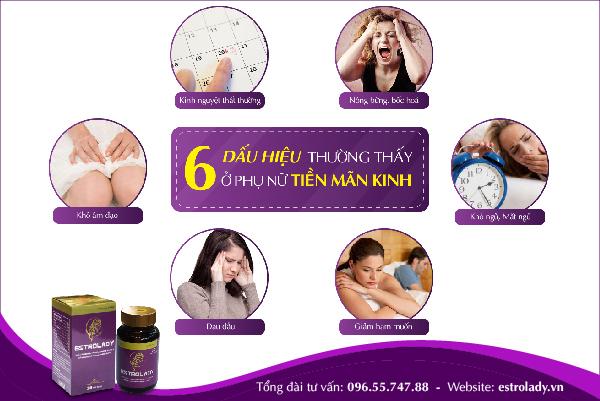 6 dấu hiệu thường thấy ở phụ nữ tiền mãn kinh