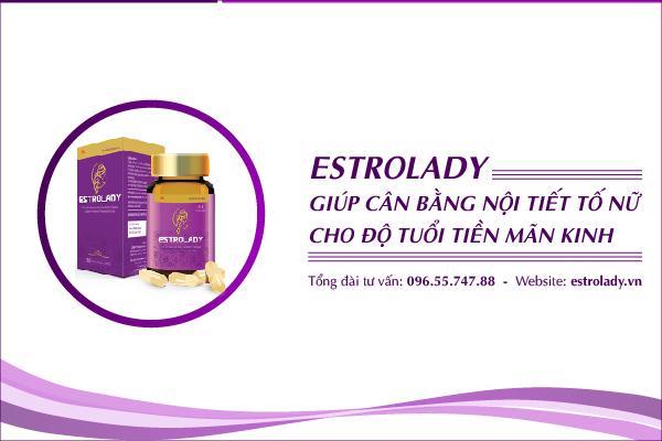 EstroLady giúp cân bằng nội tiết tố nữ