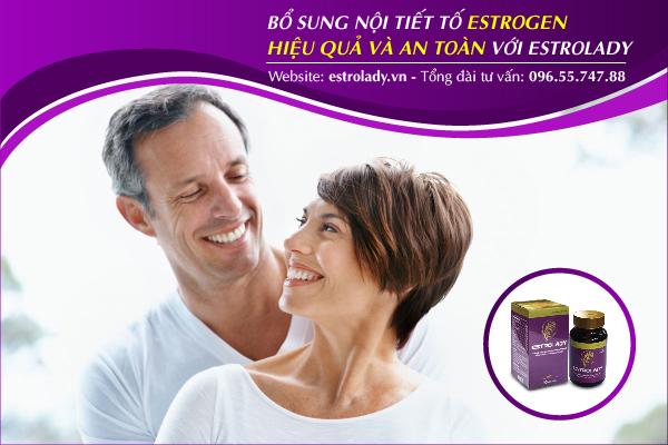 Bổ sung estrogen hiệu quả và an toàn với EstroLady
