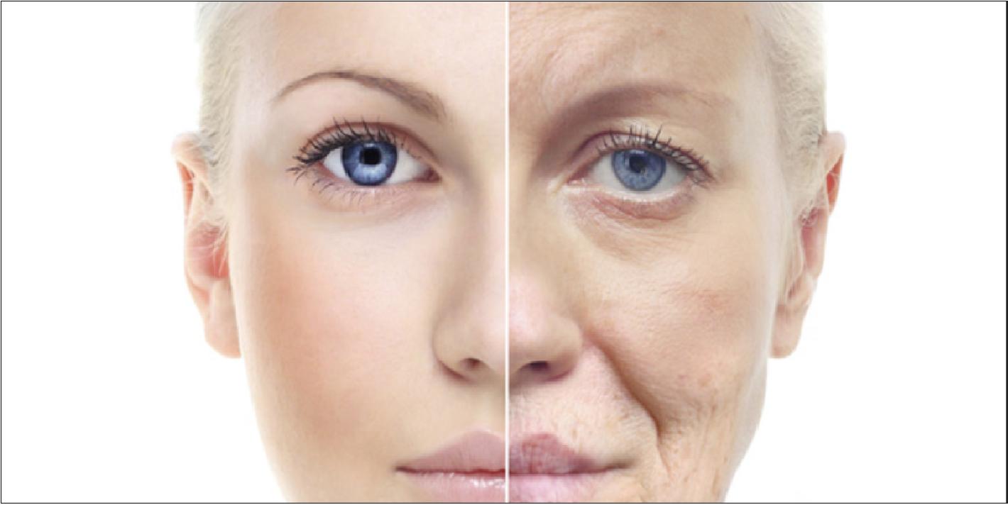 dấu hiệu lão hóa da tuổi trung niên